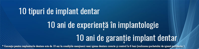 garantie implant dentar